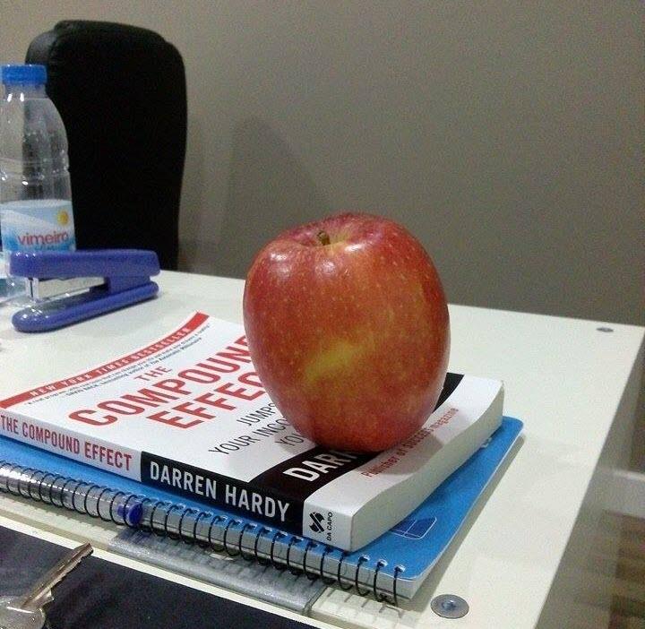 Uma maçã por dia, nem sabe o bem que lhe fazia!