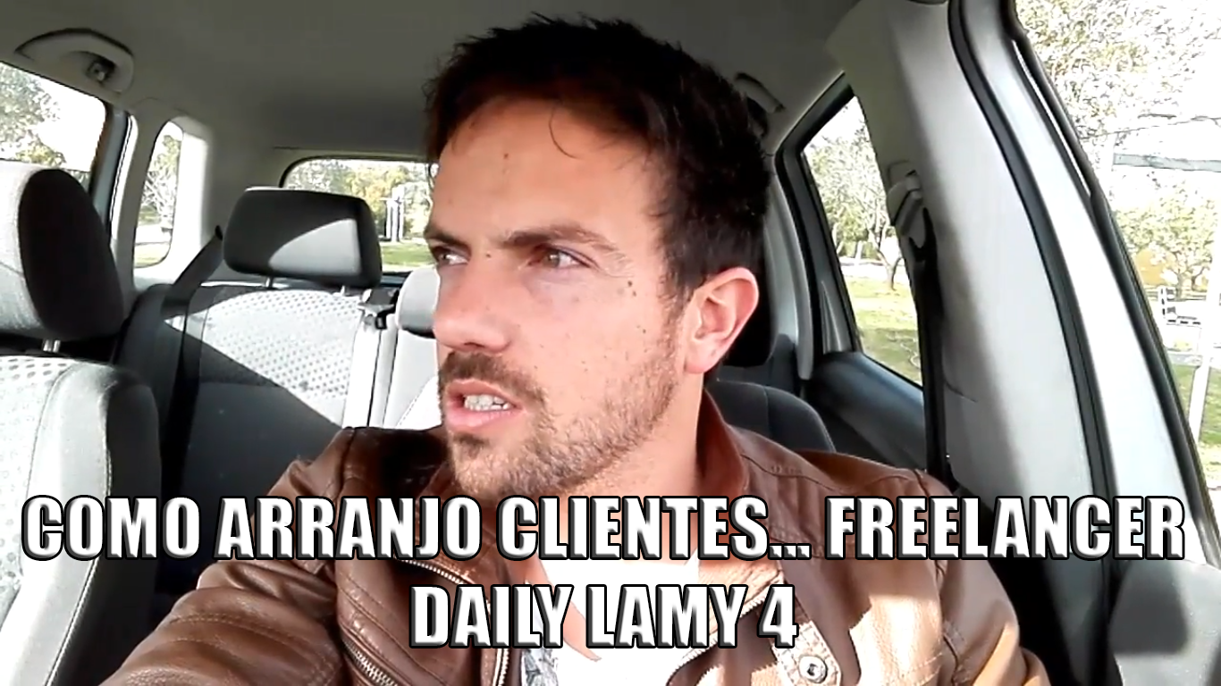 COMO ARRANJO CLIENTES… FREELANCER | DAILY LAMY 4